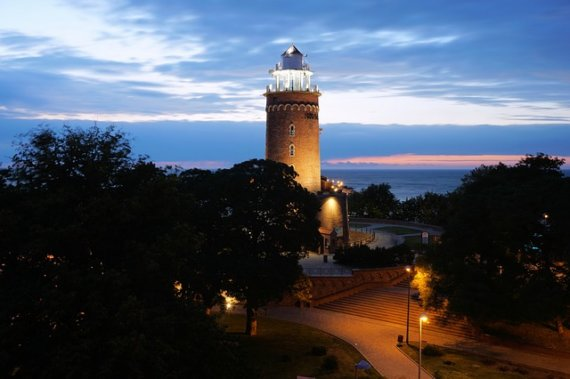 Leuchtturm in Köolberg Kolobrzeg