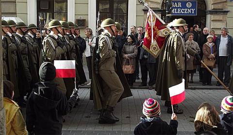Patriotische Aufwallungen beim Unabhängigkeitsmarsch, Foto: Piotr Drabik, CC BY 2.0