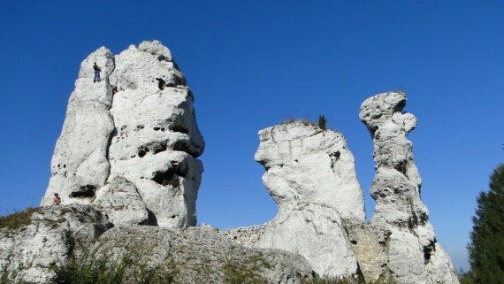 Polens Bergwelt, ideal für Kletterer