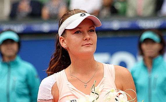 Polens Tennisstar Agnieszka Radwanska, Foto: Christopher Johnson from Tokyo, Japan, CC-BY-SA-2.0
