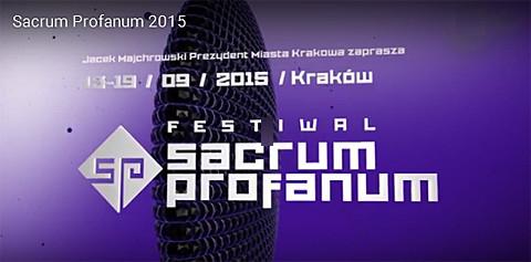 Sacrum Profanum, Festival innovativer Musik, Foto: © www.sacrumprofanum.pl