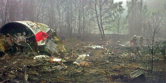 Flugzeugabsturz bei Smolensk 2010, Foto: Commons:OTRS, CC BY-SA 2.5