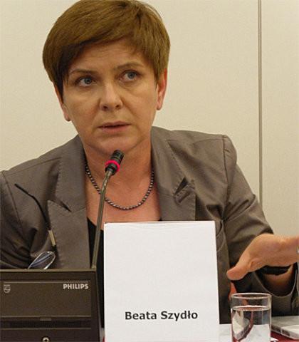 Polens Ministerpräsidentin Beata Szydlo, Foto: Piotr Drabik, CC-BY-2.0