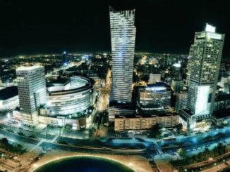 Nachtleben in Warschau